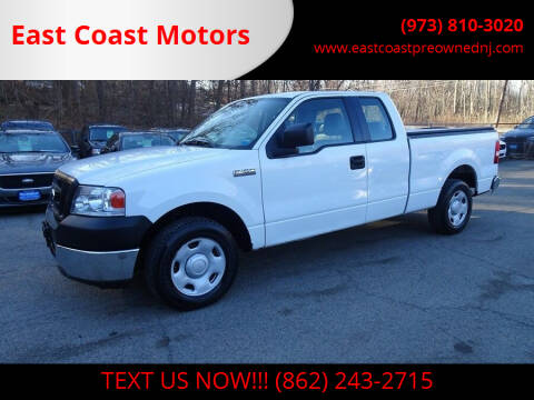 2008 Ford F-150 for sale at East Coast Motors in Lake Hopatcong NJ