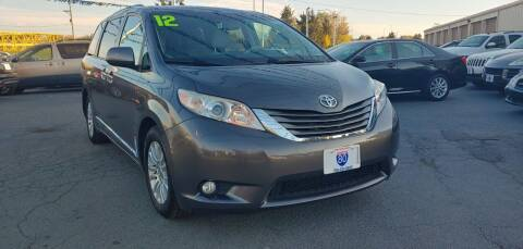 2012 Toyota Sienna for sale at I-80 Auto Sales in Hazel Crest IL