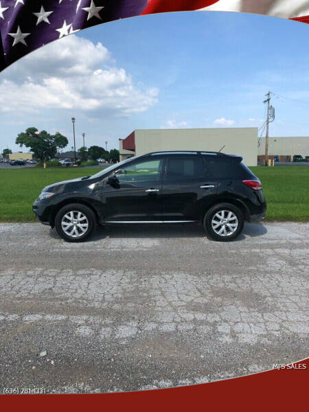 2013 Nissan Murano for sale at MJ'S Sales in Foristell MO