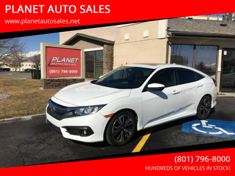 2016 Honda Civic for sale at PLANET AUTO SALES in Lindon UT