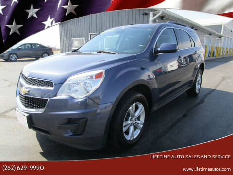2013 Chevrolet Equinox for sale at Lifetime Auto Sales and Service in West Bend WI
