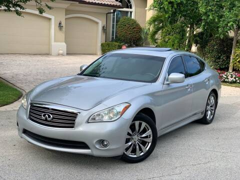 2012 Infiniti M37 for sale at Citywide Auto Group LLC in Pompano Beach FL