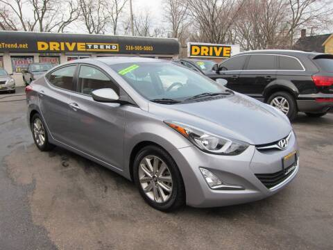 2016 Hyundai Elantra for sale at DRIVE TREND in Cleveland OH
