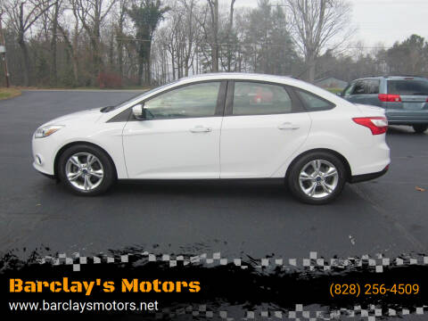 2014 Ford Focus for sale at Barclay's Motors in Conover NC