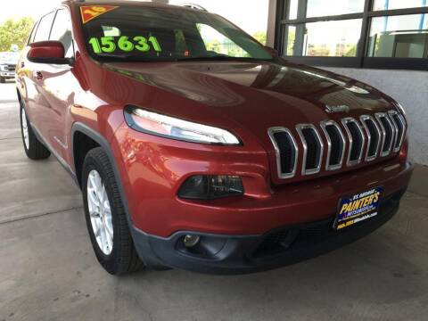 2016 Jeep Cherokee for sale at Painter's Mitsubishi in Saint George UT