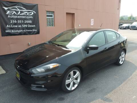 2014 Dodge Dart for sale at ENZO AUTO in Parma OH