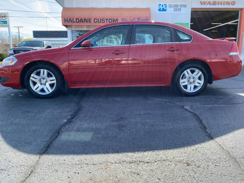 2011 Chevrolet Impala for sale at Haldane Custom in Polo IL