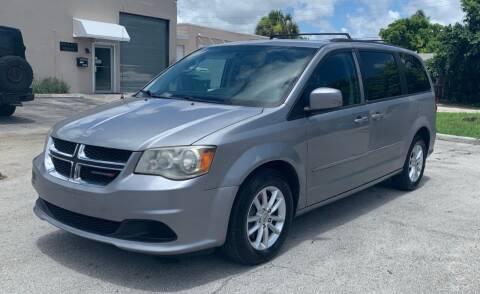 2014 Dodge Grand Caravan for sale at FINE AUTO XCHANGE in Oakland Park FL