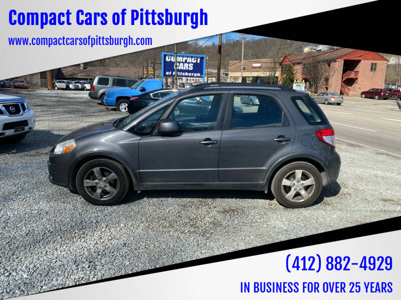 2012 Suzuki SX4 Crossover for sale at Compact Cars of Pittsburgh in Pittsburgh PA