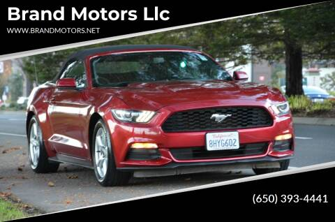 2016 Ford Mustang for sale at Brand Motors llc in Belmont CA