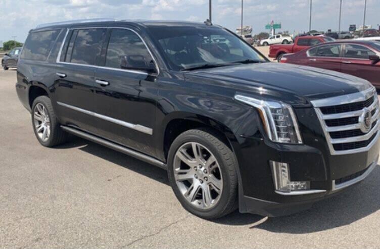 2015 Cadillac Escalade ESV for sale at Texas Luxury Auto in Houston TX