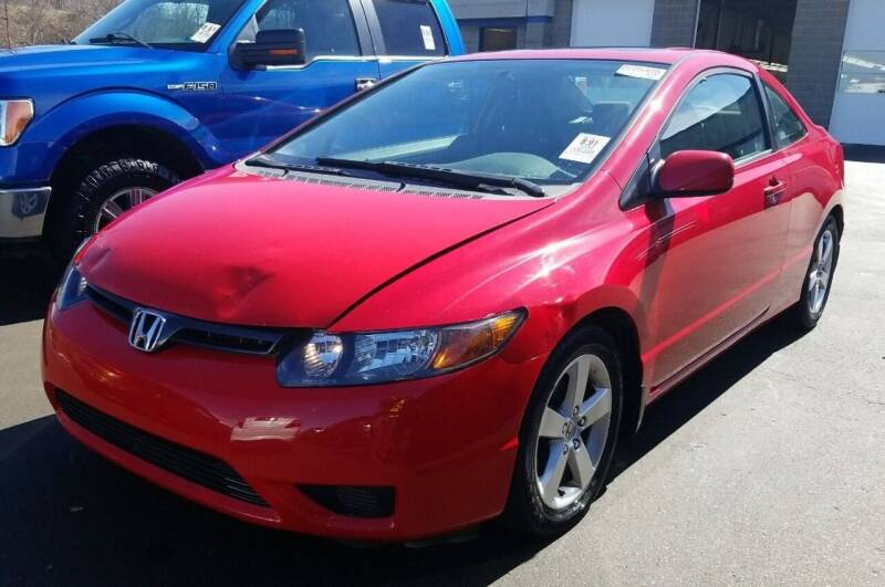 2008 Honda Civic for sale at Angelo's Auto Sales in Lowellville OH