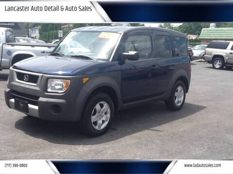 2003 Honda Element for sale at Lancaster Auto Detail & Auto Sales in Lancaster PA