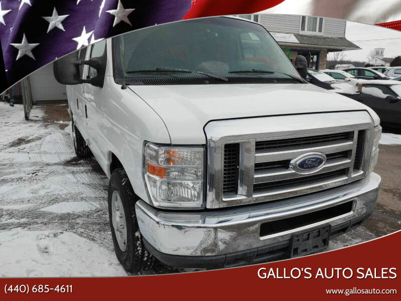 2014 Ford E-Series Wagon for sale at Gallo's Auto Sales in North Bloomfield OH