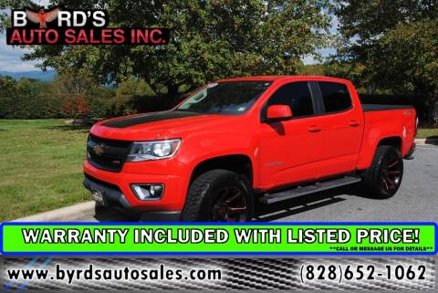2017 Chevrolet Colorado for sale at Byrds Auto Sales in Marion NC