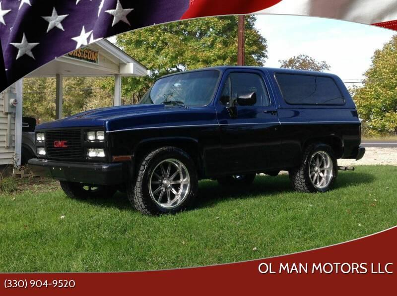 1982 GMC Jimmy for sale at Ol Man Motors LLC in Louisville OH