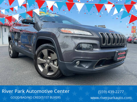 2016 Jeep Cherokee for sale at River Park Automotive Center in Fresno CA