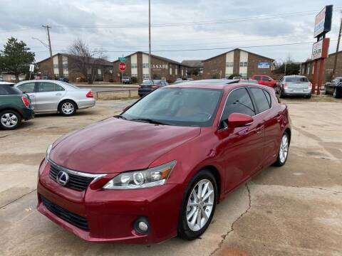 2012 Lexus CT 200h for sale at Car Gallery in Oklahoma City OK