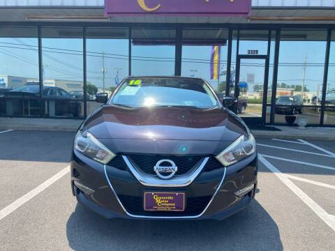 2016 Nissan Maxima for sale at East Carolina Auto Exchange in Greenville NC