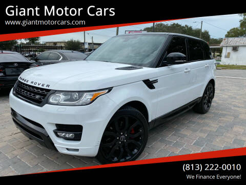 2015 Land Rover Range Rover Sport for sale at Giant Motor Cars in Tampa FL