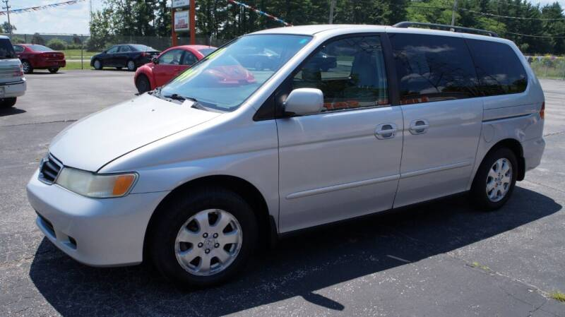 2002 Honda Odyssey for sale at G & R Auto Sales in Charlestown IN