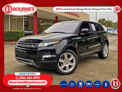 2014 Land Rover Range Rover Evoque for sale at Bourne's Auto Center in Daytona Beach FL
