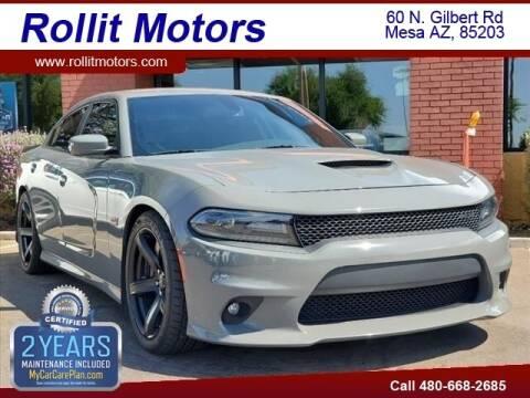 2018 Dodge Charger for sale at Rollit Motors in Mesa AZ