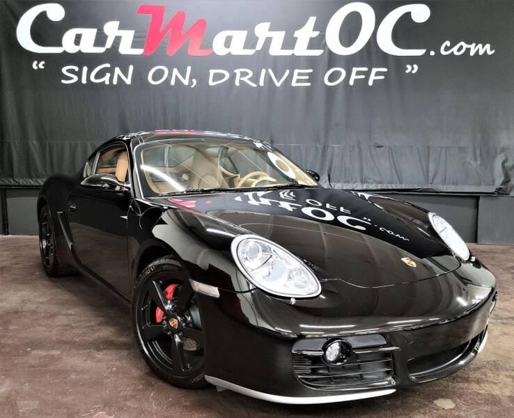 2006 Porsche Cayman for sale at CarMart OC in Costa Mesa, Orange County CA