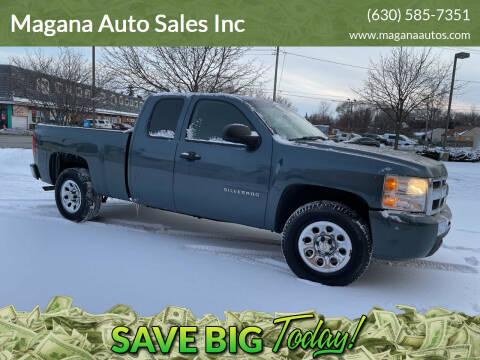 2011 Chevrolet Silverado 1500 for sale at Magana Auto Sales Inc in Aurora IL