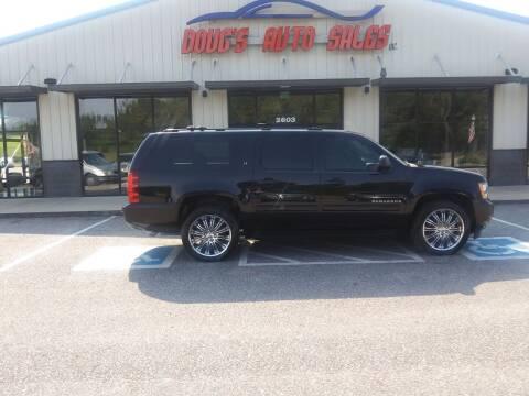 2014 Chevrolet Suburban for sale at DOUG'S AUTO SALES INC in Pleasant View TN