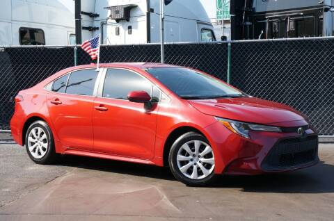 2020 Toyota Corolla for sale at MATRIX AUTO SALES INC in Miami FL