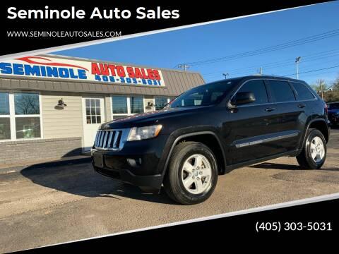 2012 Jeep Grand Cherokee for sale at Seminole Auto Sales in Seminole OK