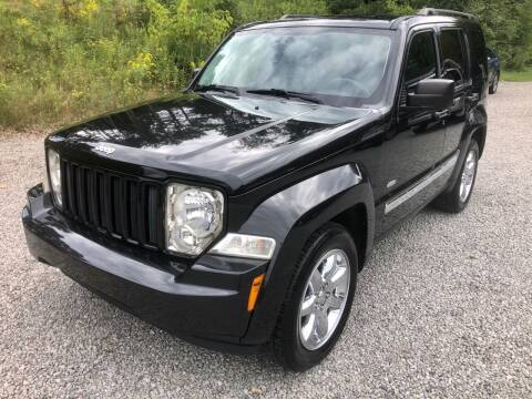 2012 Jeep Liberty for sale at R.A. Auto Sales in East Liverpool OH
