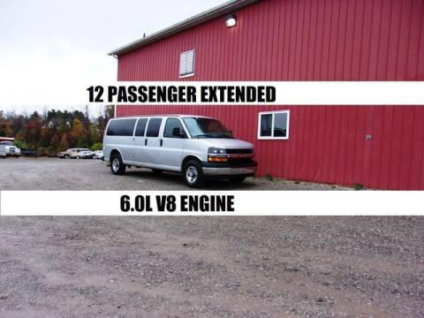 2018 Chevrolet Express Passenger for sale at Windy Hill Auto and Truck Sales in Millersburg OH