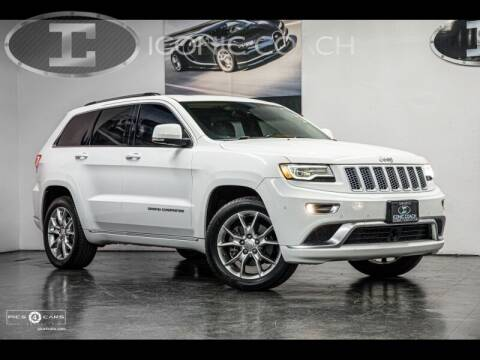 2015 Jeep Grand Cherokee for sale at Iconic Coach in San Diego CA