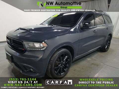 2018 Dodge Durango for sale at NW Automotive Group in Cincinnati OH