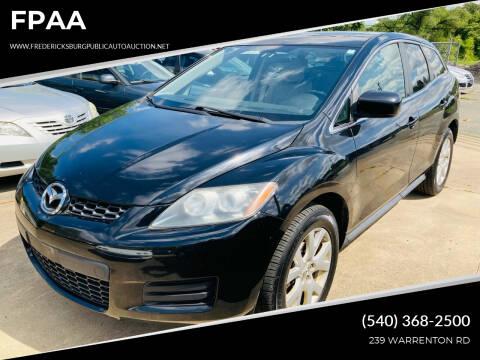 2009 Mazda CX-7 for sale at FPAA in Fredericksburg VA
