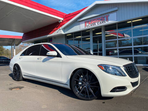 2017 Mercedes-Benz S-Class for sale at Furrst Class Cars LLC in Charlotte NC