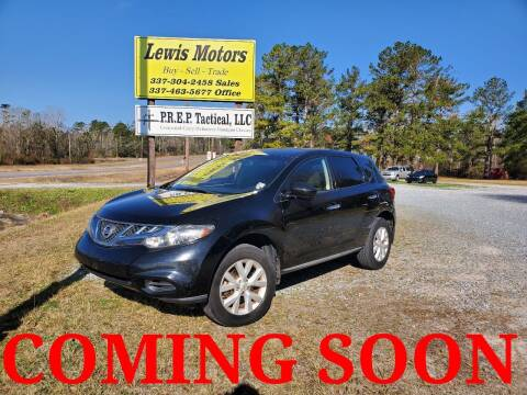 2011 Nissan Murano for sale at Lewis Motors LLC in Deridder LA