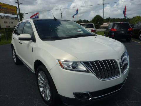 2012 Lincoln MKX for sale at Roswell Auto Imports in Austell GA