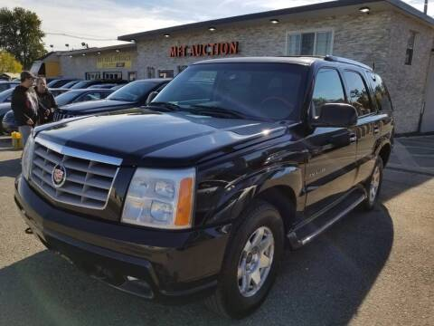 2002 Cadillac Escalade for sale at MFT Auction in Lodi NJ