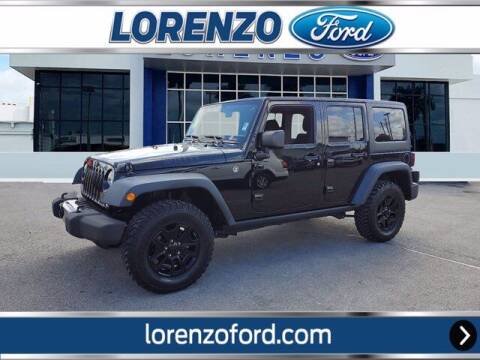 2018 Jeep Wrangler JK Unlimited for sale at Lorenzo Ford in Homestead FL