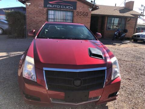2011 Cadillac CTS for sale at Auto Click in Tucson AZ