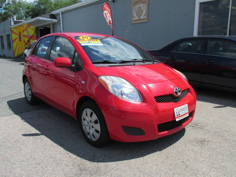 2010 Toyota Yaris for sale at Omega Auto & Truck Center, Inc. in Salem MA