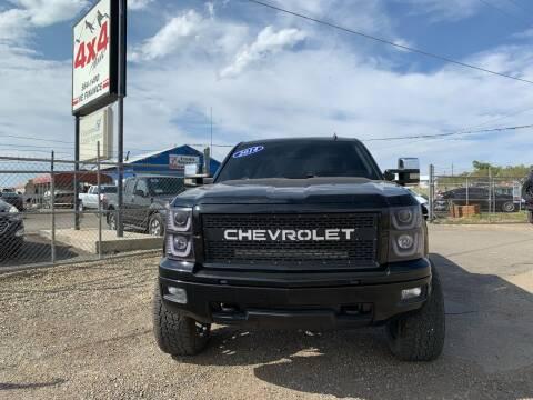 2014 Chevrolet Silverado 1500 for sale at 4X4 Auto in Cortez CO