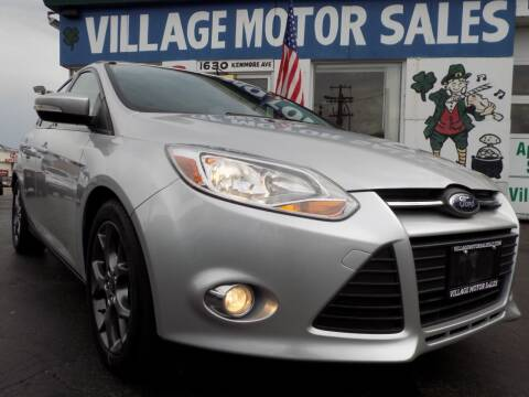 2014 Ford Focus for sale at Village Motor Sales in Buffalo NY