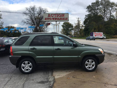 2005 Kia Sportage for sale at Action Auto Wholesale in Painesville OH