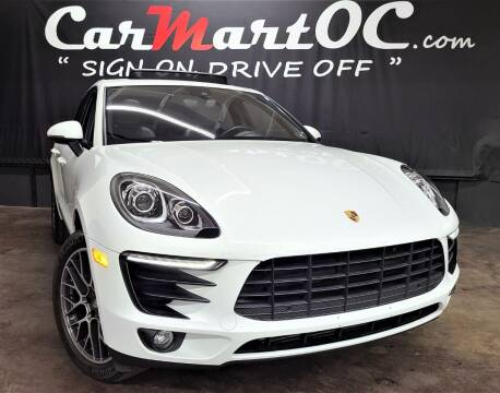 2018 Porsche Macan for sale at CarMart OC in Costa Mesa, Orange County CA