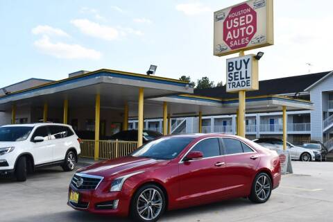2013 Cadillac ATS for sale at Houston Used Auto Sales in Houston TX