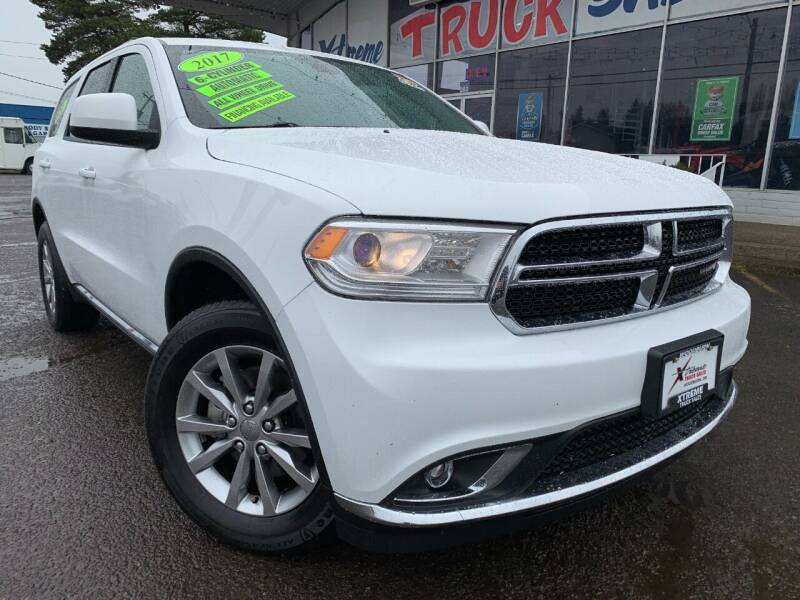 2017 Dodge Durango for sale at Xtreme Truck Sales in Woodburn OR